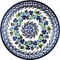Ceramika Artystyczna Dinner Plate Blueberry Vine
