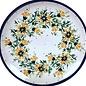 Ceramika Artystyczna Dinner Plate Carnation Yellow