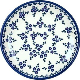 Ceramika Artystyczna Dinner Plate Forget Me Not