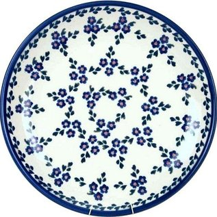 Ceramika Artystyczna Dinner Plate Forget Me Not