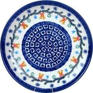Ceramika Artystyczna Dinner Plate Jingle Bells
