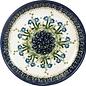 Ceramika Artystyczna Dinner Plate Poppies Blue