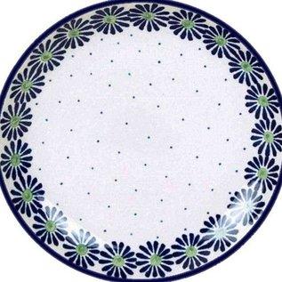 Ceramika Artystyczna Dinner Plate Ring of Flowers