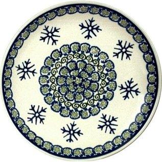 Ceramika Artystyczna Dinner Plate Snowflake