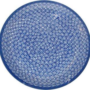 Ceramika Artystyczna Dinner Plate Swirly Curly