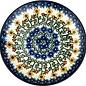 Ceramika Artystyczna Dinner Plate Summer Sunflower