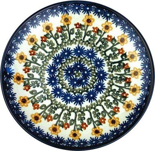 Ceramika Artystyczna Dinner Plate Summer Sunflower  sc 1 st  The Bramble Patch & Dinner Plate Summer Sunflower - The Bramble Patch