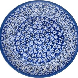 Ceramika Artystyczna Dinner Plate Wheel of Fame