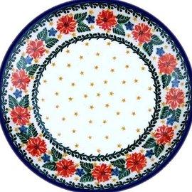 Ceramika Artystyczna Dinner Plate Winter Celebration