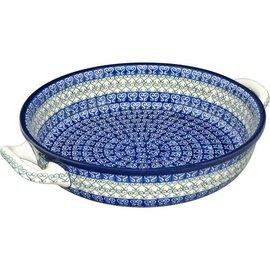 Ceramika Artystyczna Round Elegant Baker Size 3 Filigree