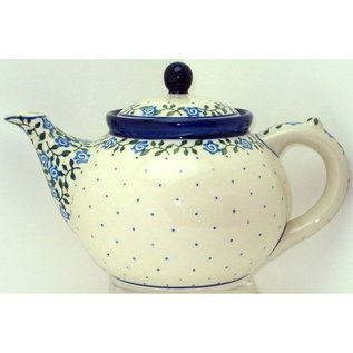 Ceramika Artystyczna Teapot Size 3 Antique Rose