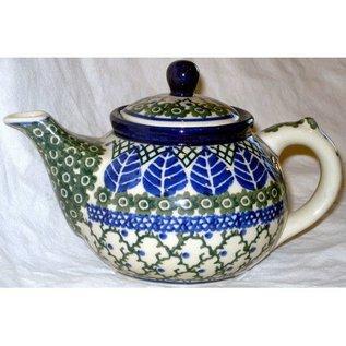 Ceramika Artystyczna Teapot Size 3 Blue Spruce