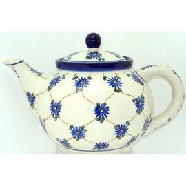 Ceramika Artystyczna Teapot Size 3 Daisy Chain