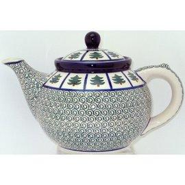 Ceramika Artystyczna Teapot Size 3 Evergreen