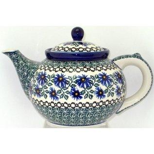 Ceramika Artystyczna Teapot Size 3 Periwinkle