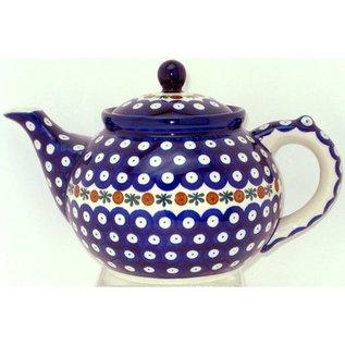 Ceramika Artystyczna Teapot Size 3 Royal Cranberry