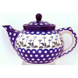 Ceramika Artystyczna Teapot Size 3 Royal Daisies