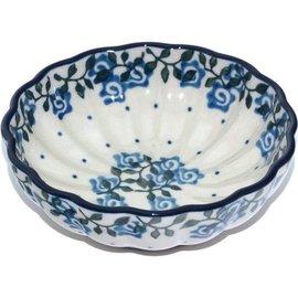 Ceramika Artystyczna Scalloped Bowl Size 1 Antique Rose