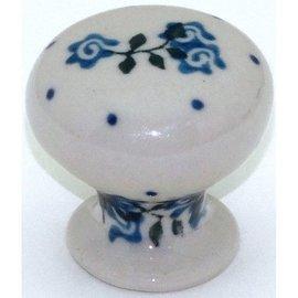 Ceramika Artystyczna Drawer Pull Antique Rose