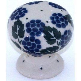 Ceramika Artystyczna Drawer Pull Blackberry