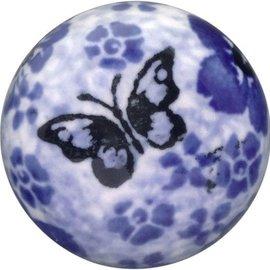 Ceramika Artystyczna Drawer Pull Chintz Butterfly