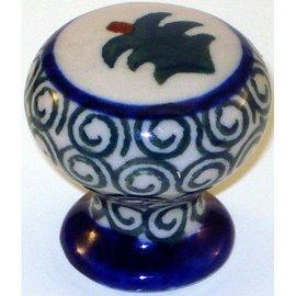 Ceramika Artystyczna Drawer Pull Evergreen