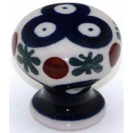 Ceramika Artystyczna Drawer Pull Royal Cranberry