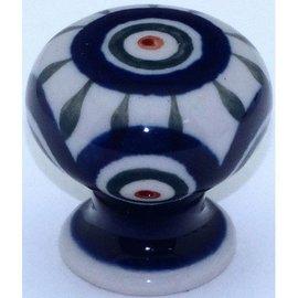Ceramika Artystyczna Drawer Pull Royal Peacock