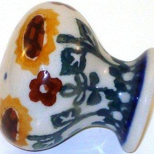 Ceramika Artystyczna Drawer Pull Summer Sunflower
