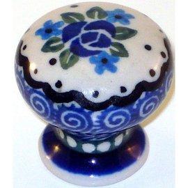 Ceramika Artystyczna Drawer Pull Sweetheart Rose