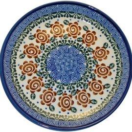 Ceramika Artystyczna Luncheon Plate Lady Godiva Auburn