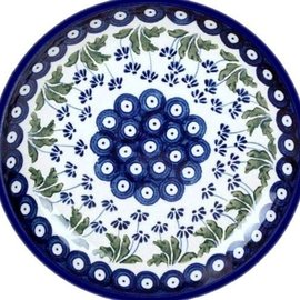 Ceramika Artystyczna Luncheon Plate Royal Daisies