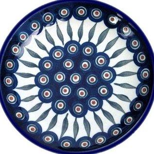 Ceramika Artystyczna Luncheon Plate Royal Peacock