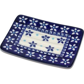 Ceramika Artystyczna Rectangular Soap Dish Paris Cafe