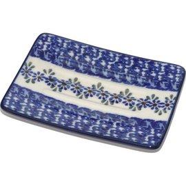 Ceramika Artystyczna Rectangular Soap Dish Petit Point