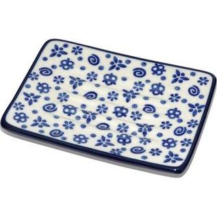 Ceramika Artystyczna Rectangular Soap Dish Pretzel