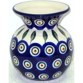 Ceramika Artystyczna Bubble Vase Size 2 Royal Peacock