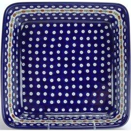Ceramika Artystyczna Square Baker Size 2 Royal Cranberry