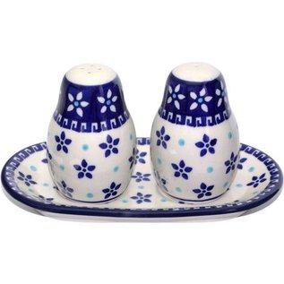 Ceramika Artystyczna Salt & Pepper Set Paris Cafe