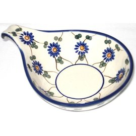 Ceramika Artystyczna Spoon Rest Size 2 Daisy Chain