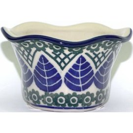 Ceramika Artystyczna Votive Holder Blue Spruce