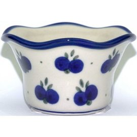 Ceramika Artystyczna Votive Holder Double Blueberry