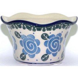 Ceramika Artystyczna Votive Holder Lady Godiva Blue