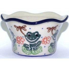 Ceramika Artystyczna Votive Holder Lil Froggie