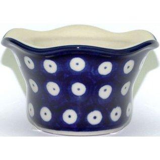 Ceramika Artystyczna Votive Holder Royal Blue