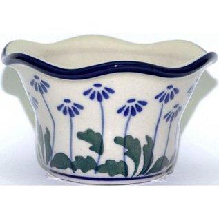 Ceramika Artystyczna Votive Holder Royal Daisies