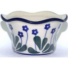 Ceramika Artystyczna Votive Holder Royal Forget Me Not