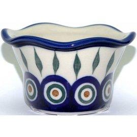 Ceramika Artystyczna Votive Holder Royal Peacock