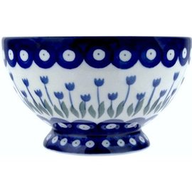 Ceramika Artystyczna Pedestal Bowl Size 1 Royal Tulips