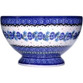 Ceramika Artystyczna Pedestal Bowl Size 1 Sweetheart Rose